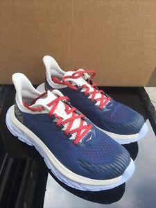 Hoka One One Womens Clifton Edge Running Shoes - UK Size 6 Blue
