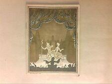 RARE PROGRAMME DE L'OPERA COMIQUE 1927-1928 / WERTHER & SOPHIE ARNOULD