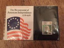 1976 GB di Royal Mail FRANCOBOLLI-Bicentenario di indipendenza americana PRES 'n Pack 80