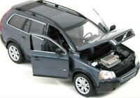 VOLVO XC90 T6 A SR AWD 2003 GREY WELLY 1/24 SCALE CAR DIECAST MODEL