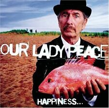 Happiness Is Not a Fish That You Can Catch by Our Lady Peace (CD, Sep-1999, Sony