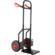 Hand Sack Truck Bag Barrow Cart Dolly Trolley pull-out 2 Wheeler Transport black
