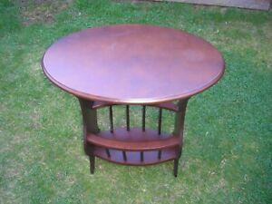 "Small Oval Table - Magazine Rack Size 58x36x56(H)cm /  23""x14""x22"""