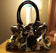 Betsey Johnson animal print satchel