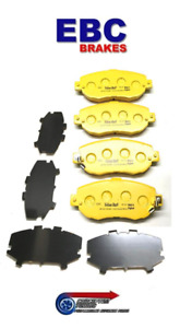 EBC Yellowstuff Front Brake Pads - For JZX100 Toyota Chaser Mark II 1JZ-GTE