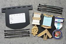 Pocket  Display Card for Masonic Jewels  - Three Jewels