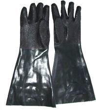 """Heavy Duty Sandblasting Gloves 6"""" x 19"""" Sandblaster Sand Blast Blaster Blasting"""
