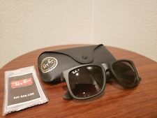 Authentic Ray-Ban JUSTIN Classic Polarized Black/Grey Gradient 54 mm