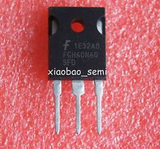 5PCS  FGH60N60SFD 60N60 60A 600V TO-247 FSC IGBT