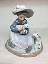 "collectible vintage porcelain figurines Lladro #5469 ""Lambkins"""