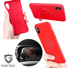Para IPHONE X 6 6S 7 8Plus Anillo Antichoque Protector Resistente TPU Funda