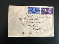 More details for gb 1946 victory fdc scarce slogan pmk -'don't waste bread...(1177)