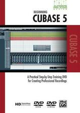 Alfred's Pro Audio Series: Beginning Cubase 5 Songs Tunes Learn Play MUSIC DVD