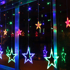 Twinkling Stars Fairy String Lights RGB Window Display Xmas Christmas Multicolor