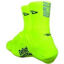 DeFeet Slipstream Shoe Covers Cordura Overshoes Warm Aerodynamic Cycling Neon Y S/m Def00672