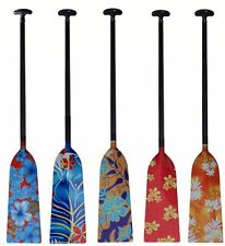 ZJ SPORT IDBF Approved 1-Piece Carbon Dragon Boat Paddle With Graphic Design