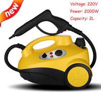 220V Steam Cleaner Machine Car Care Upholstery Carpet Floor Steamer Cleaning 2L