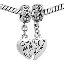 Pandora Bracelet Womens Day Gift  Wife Husband Charms Love  Sale Cheap Dangle
