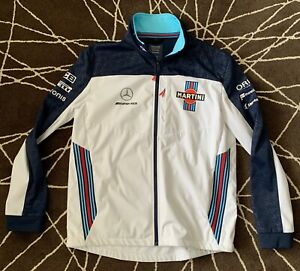 Mercedes Martini Racing soft shell jacket, immaculate used clean condition LARGE