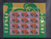 2016 Forever Lunar New Year Monkey Stamps (Sheet of 12) Mint Condition USPS