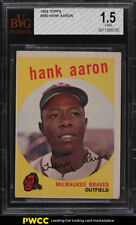 1959 Topps Hank Aaron #380 BVG 1.5 FR