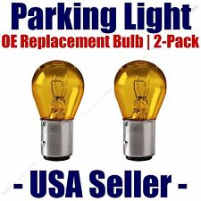Parking Light Bulb 2-pack OE Replacement Fits Listed Kia Vehicles - 2357A