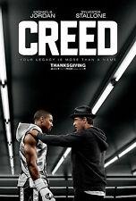 "Creed (2015) Movie Poster New 24""x36"" Rocky Balboa Michael B. Jordan Stallone"
