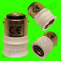 HIGH QUALITY SBC B15 to SES E14 Adaptor Converter UK SELLER. SAME DAY DISPATCH