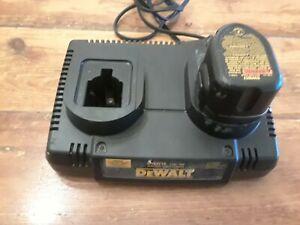 DEWALT DW9216 DUAL PORT 1 Hr. Battery Charger 7.2V - 18V. AND 7.2V Battery
