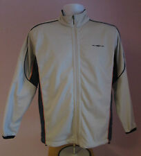 VTG Retro Mens UMBRO Grey/Blue Track Suit Sport Top Size Small