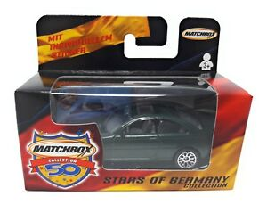 Matchbox Superfast 1-75 BMW 3er dark geen German Model Stars of Germany