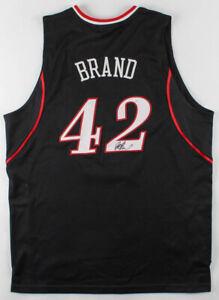 Elton Brand Signed Philadelphia 76ers Jersey (JSA COA) 1999 #1 Overall Pick