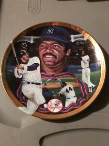 Sports Impressions Reggie Jackson Glory of the Game Series plate