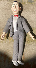 Vintage Peewee Herman 17 Inch Doll With Pull String