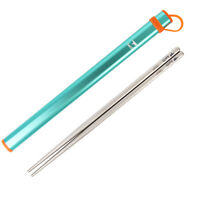 Keith Titanium Ultralight Portable Chopsticks Straw Tableware Set Waterproof EDC