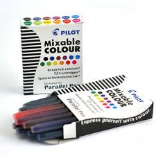 Pilot 24 Mixable Colour - Cartucce Pilot Parallel Pen - 2 Confezioni da 12 pz