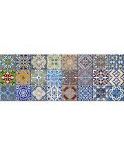 Tile Stickers Art 24PC Peel & Stick DIY Decals Portuguese Style Home Decor HA1