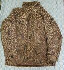 VTG 80s Columbia Goretex Camouflage Camo Hunting Jacket Coat Woodland Tree XL