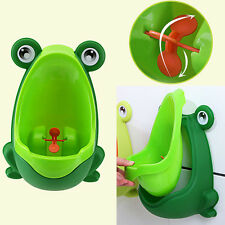 Frog Children Potty Toilet Training Urinal Baby Boys Pee Trainer BathroomecR BHL