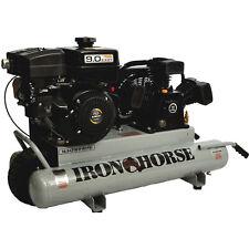 Iron Horse 9-HP 10-Gallon Gas Wheelbarrow Air Compressor