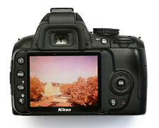 VOLLSPEKTRUM DSLR UMBAU NIKON D3000 Infrarot Infrarotkamera Full-Spectrum Mod IR