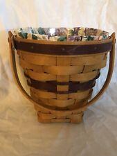 Round, Lilac Longaberger Basket, 1994