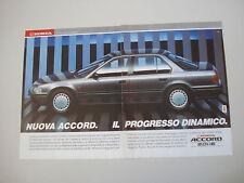 advertising Pubblicità 1990 HONDA ACCORD