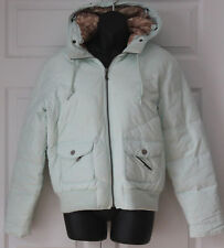 Juicy Couture Lt Green Down Winter Puffer Jacket L