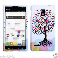 LG Optimus L9 T-Mobile P769 Snap-On Case Cover Accessory Love Tree