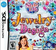 Style Lab: Jewelry Design  for Nintendo DS system NEW factory sealed