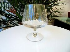 Set of 6 Easterling Crystal Lady Victoria Pattern Clear Brandy Glasses