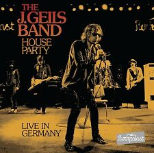 J. GEILS BAND-House Party-Live in Germany DVD + CD NUOVO