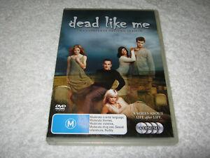 Dead Like Me - Complete Season 2 - VGC - DVD - RARE Region 4 - Aussie Seller