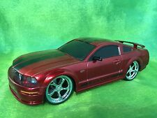 Jada 1:24 RC 2006 Ford Mustang GT 2door Red Chrome Wheel Classic Collector model
